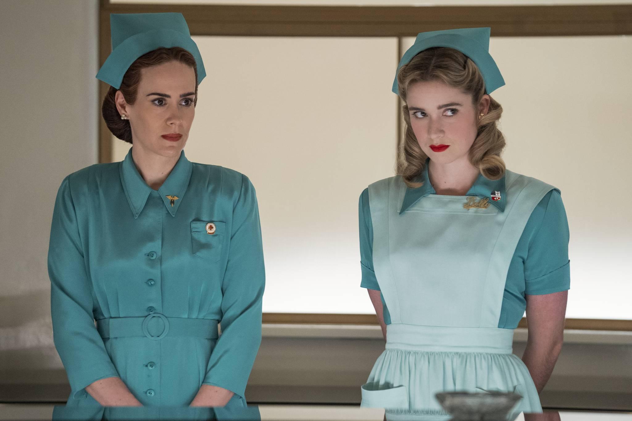 """Nowy serial Netflixa """"Ratched""""- wywiad z Sarah Paulson, królową"""