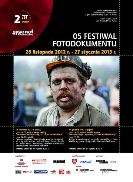 5. edycja Festiwalu Fotodokumentu w Poznaniu