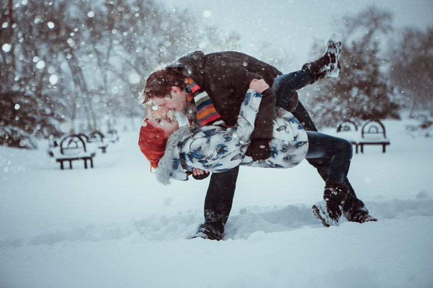 Udana randka na święta