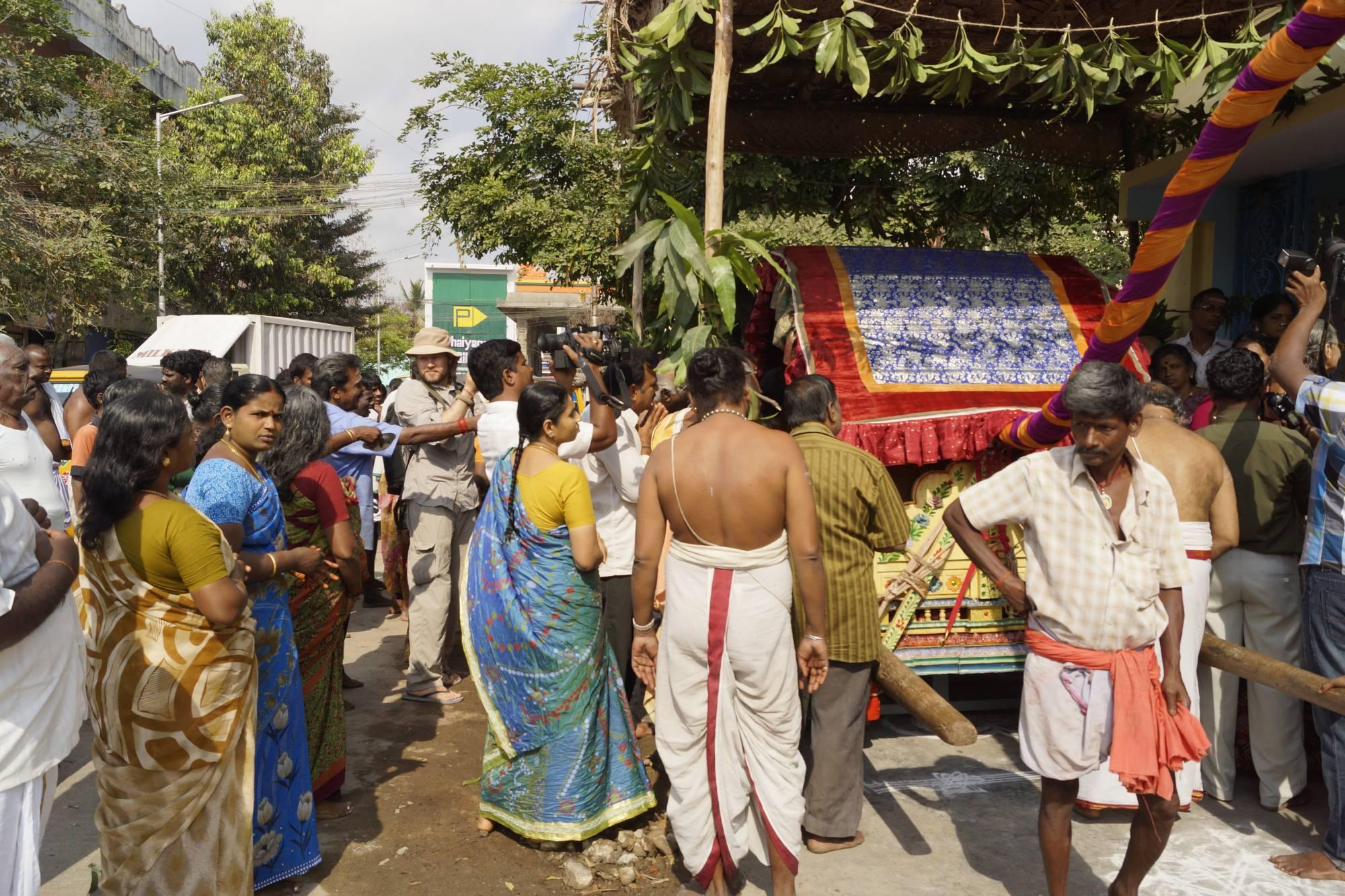 Na ulicy Kańćipuram