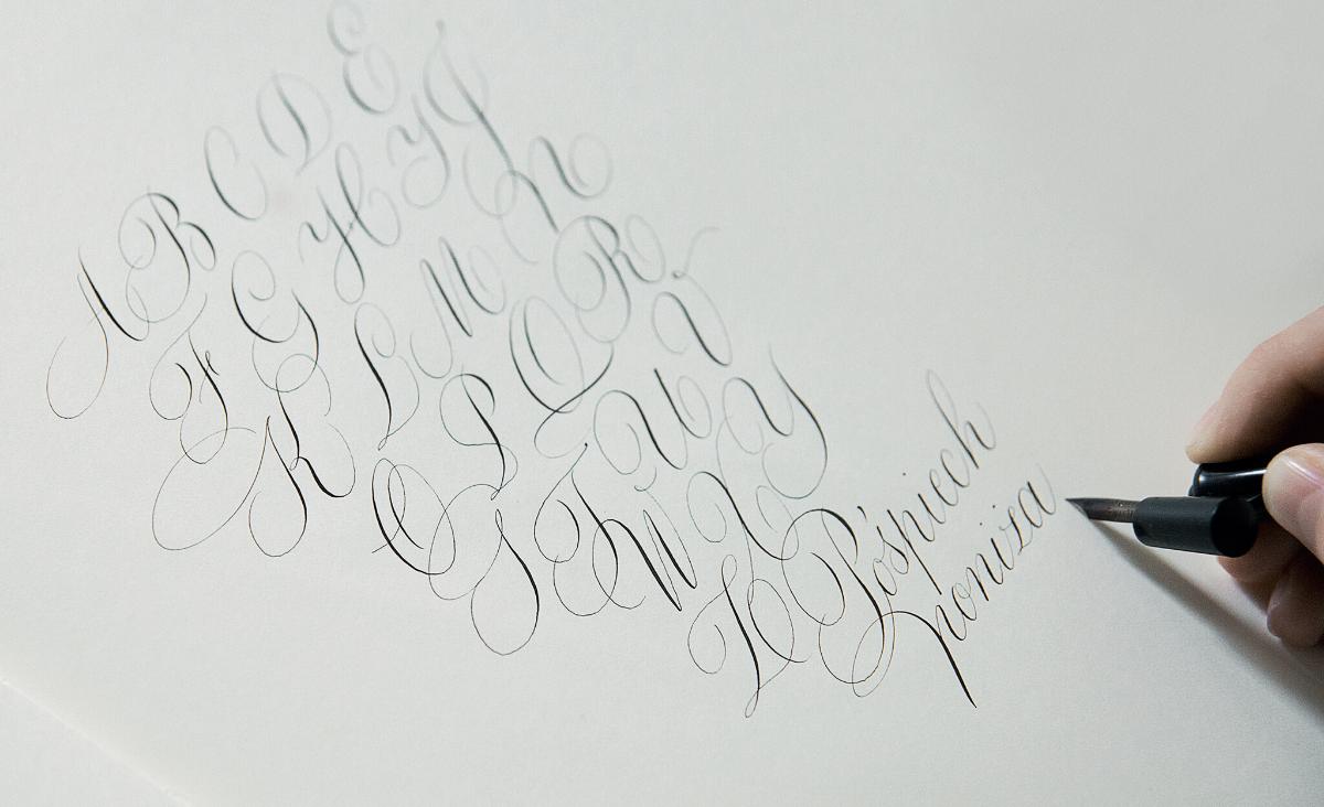 Dusza liter - rozmowa z kaligrafką Ewą Landowską