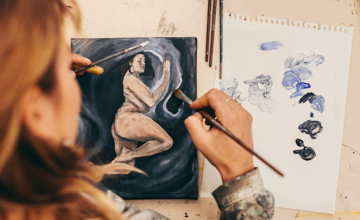 Emocje czasem lepiej namalować - Julia Wollner o terapeutycznym wpływie sztuki
