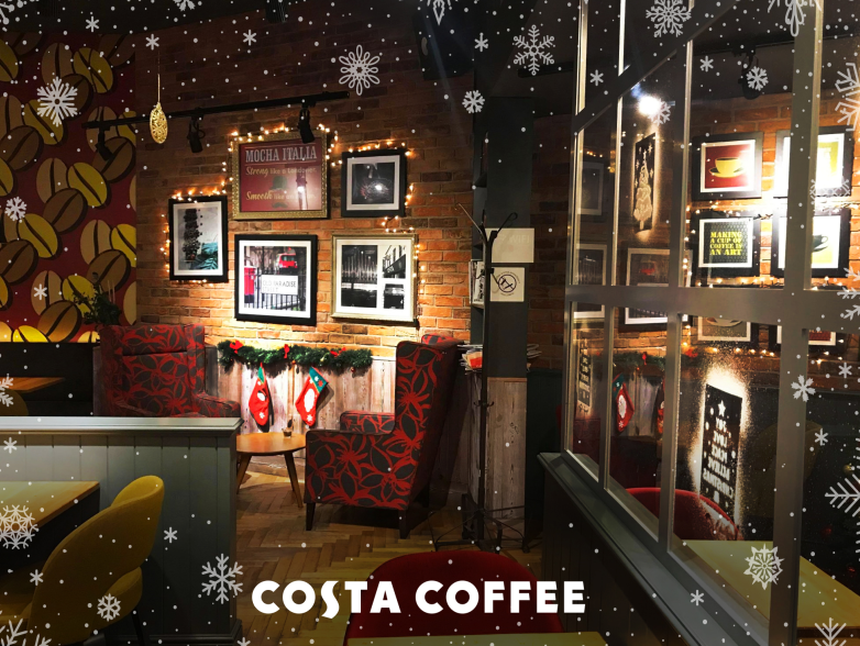 Kawiarnie COSTA COFFEE w świątecznym wydaniu
