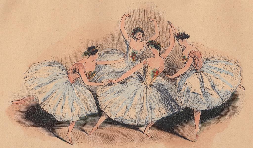 Balet romantyczny w grafice