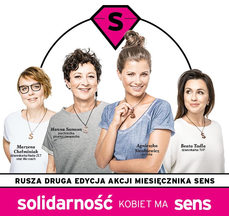 Ambasadorki akcji społecznej Solidarność Kobiet ma Sens