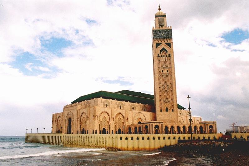 Meczet Hasana w Casablance - drugi co do wielkości meczet świata