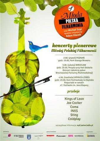 Letnia trasa koncertowa Młodej Polskiej Fliharmonii