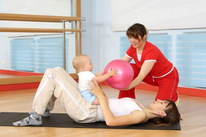 Jak ćwiczyć z dzieckiem trzymiesięcznym i starszym?
