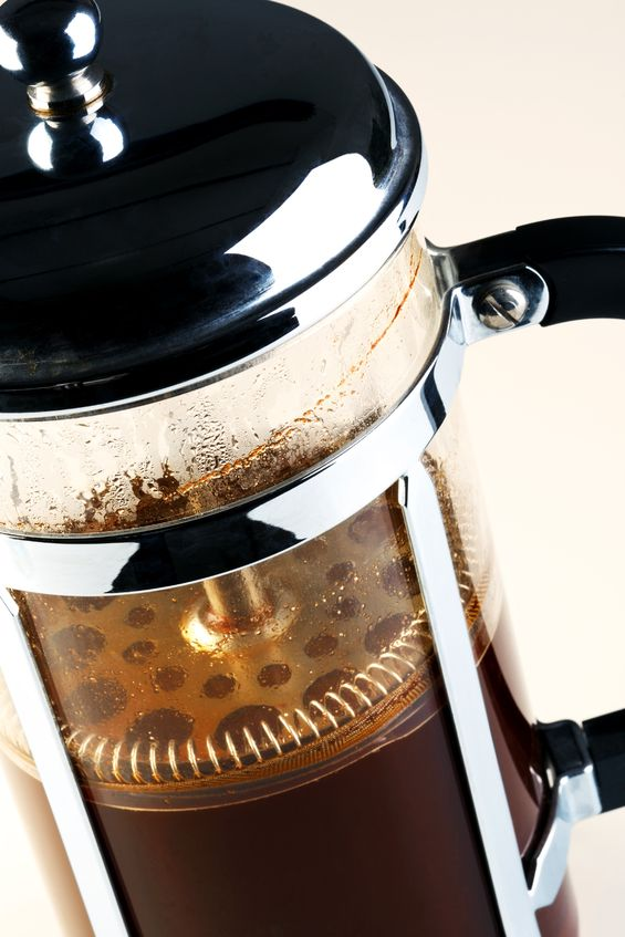 Kubik i french press