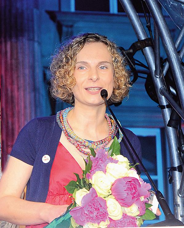 """2010: Marta Białek-Graczyk – Laureatka """"Kryształków Zwierciadła"""""""
