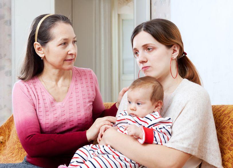 Trudne początki macierzyństwa
