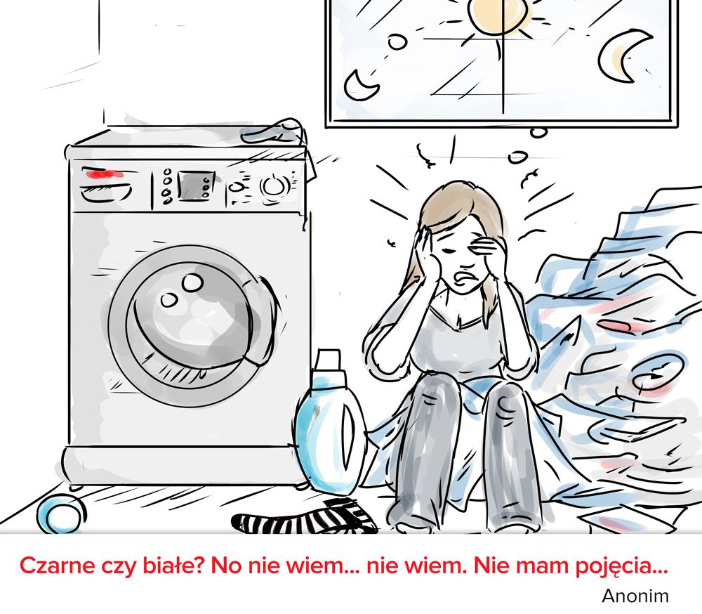 Masz problem z podejmowaniem decyzji? Zrób pranie