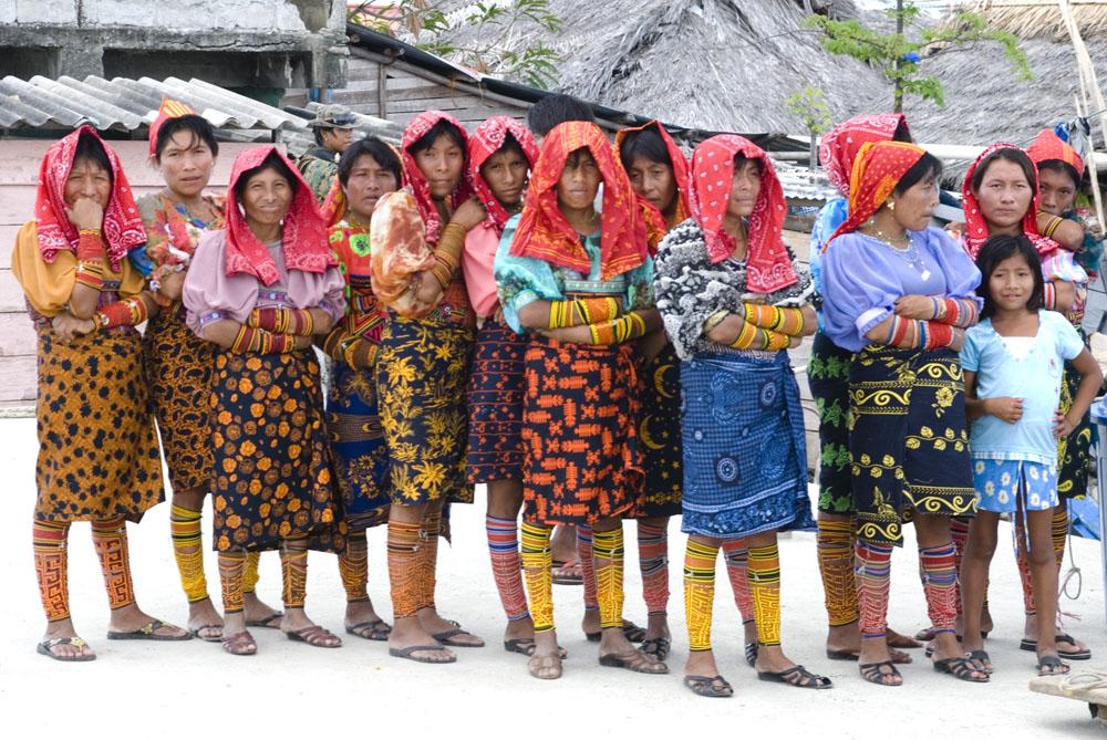 Indianie Kuna z wysp San Blas