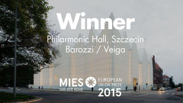 Fiharmonia Szczecińska najpiękniejszym budynkiem Europy