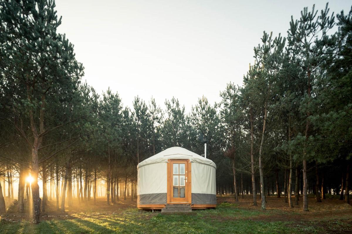 Najciekawsze miejsca na wakacje w Polsce - glamping, kąpiele leśne, spa