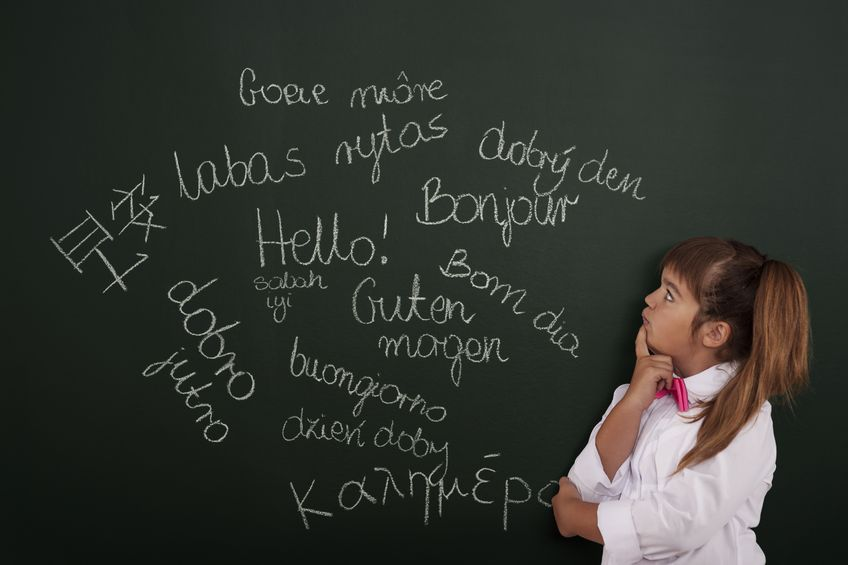 Uczenie dziecka obcego języka