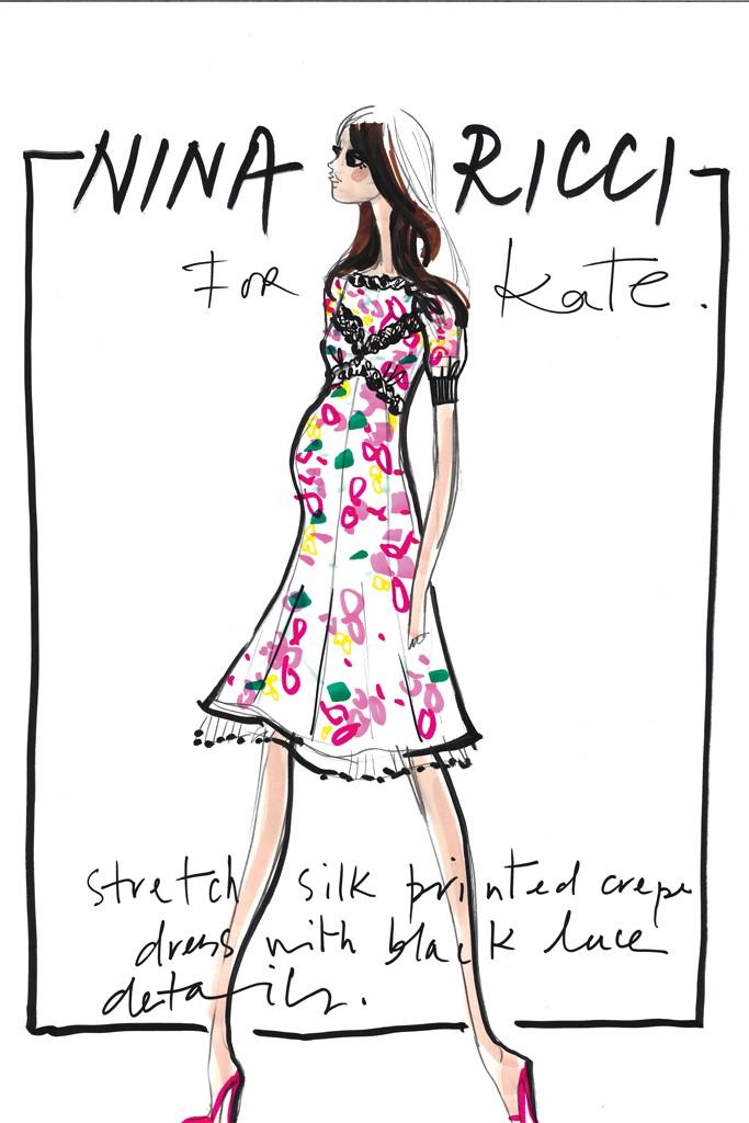 Projektanci dla Kate Middleton / Nina Ricci