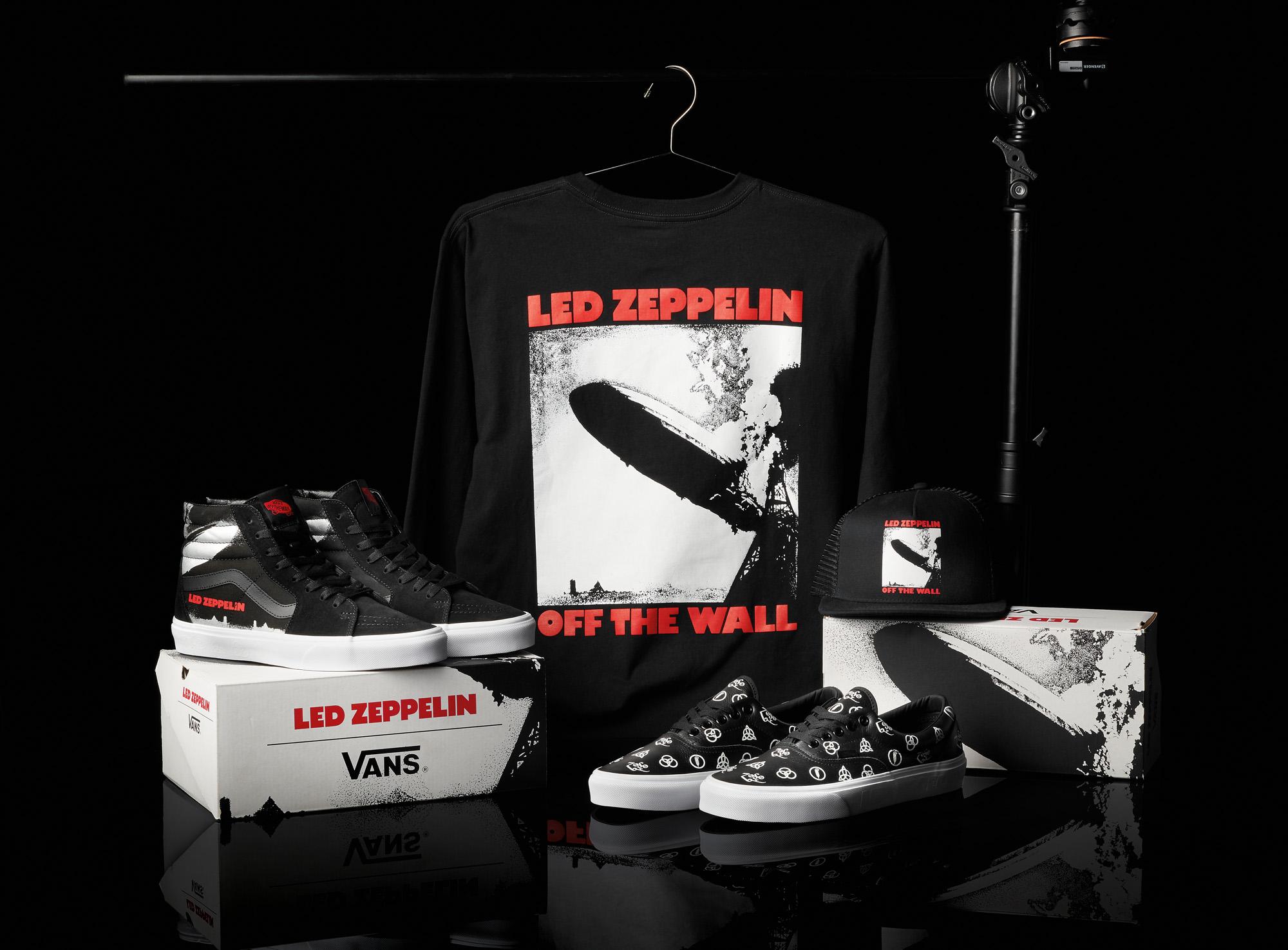 Vans i Led Zeppelin łączą siły z okazji 50. rocznicy powstania debiutanckiego albumu legendy rocka