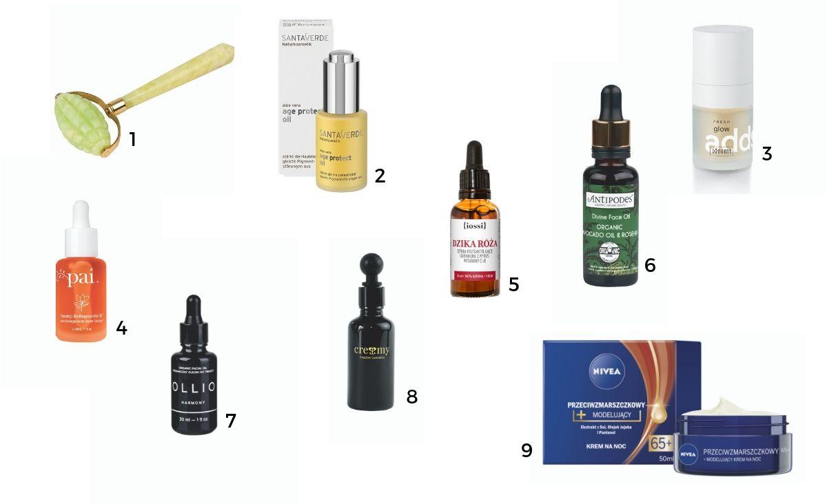 Kosmetyki do masażu twarzy (Fot. materiały prasowe)
