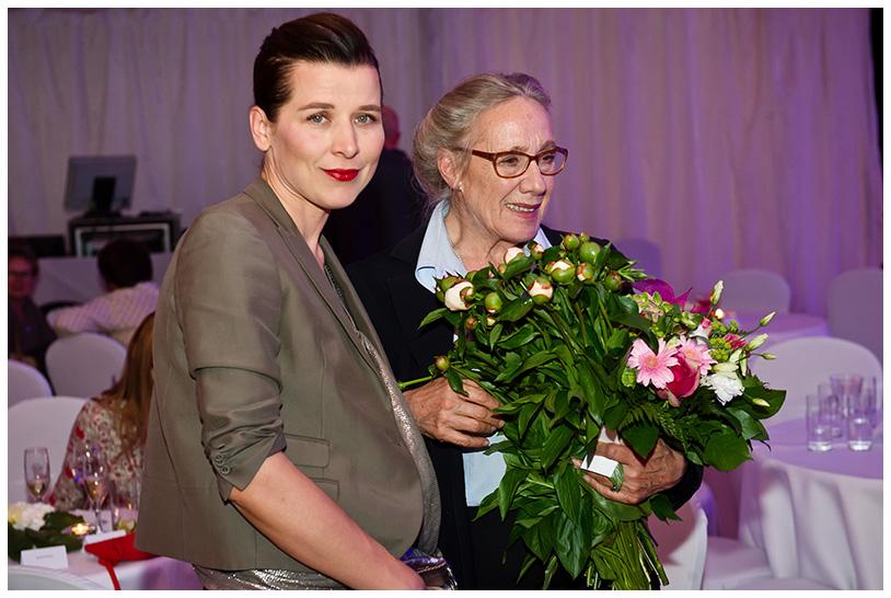 Gala Krysztalowe Zwierciadła 2012, Maja Komorowska i Katarzyna Herman