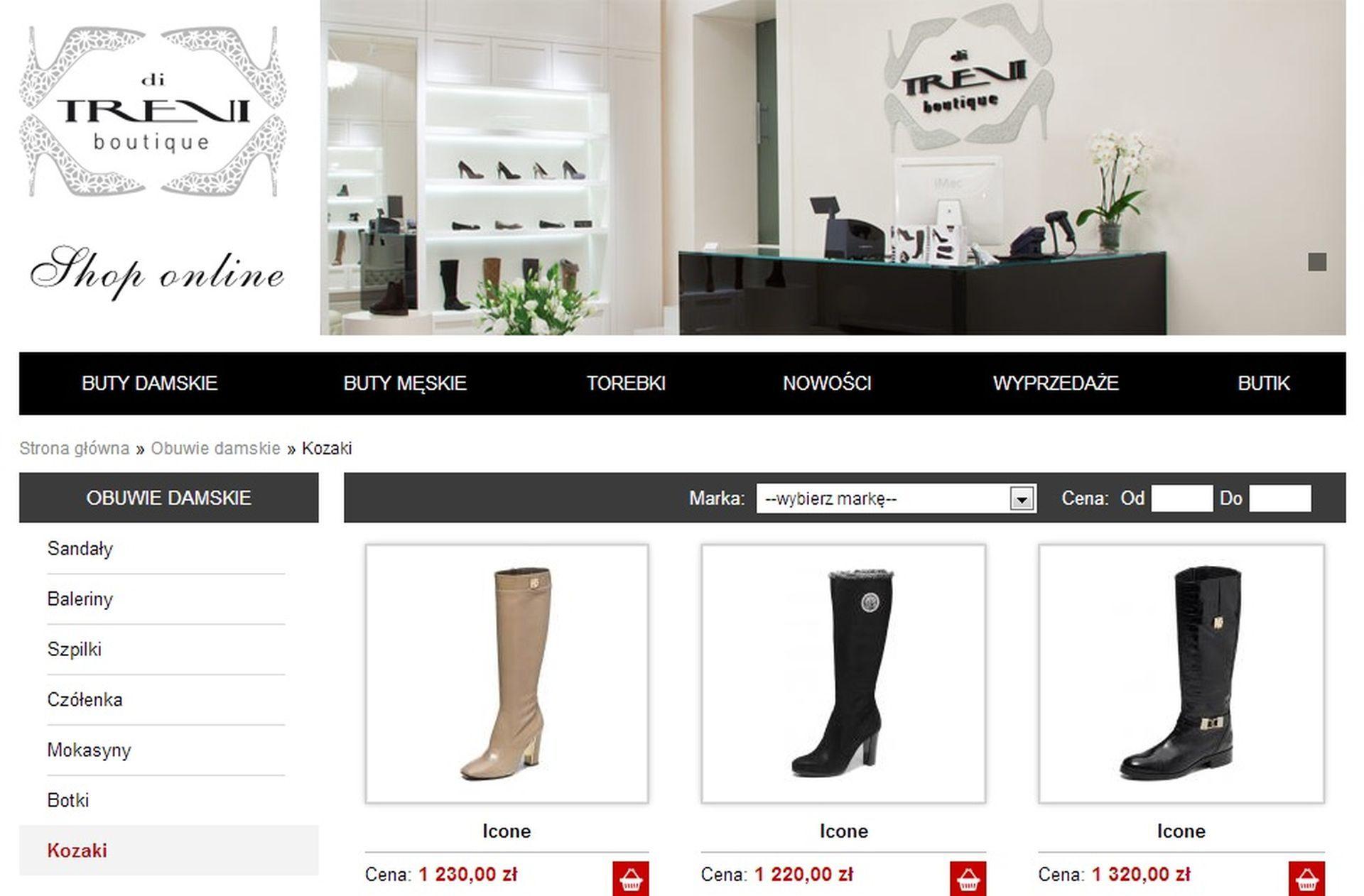di Trevi boutique już online!