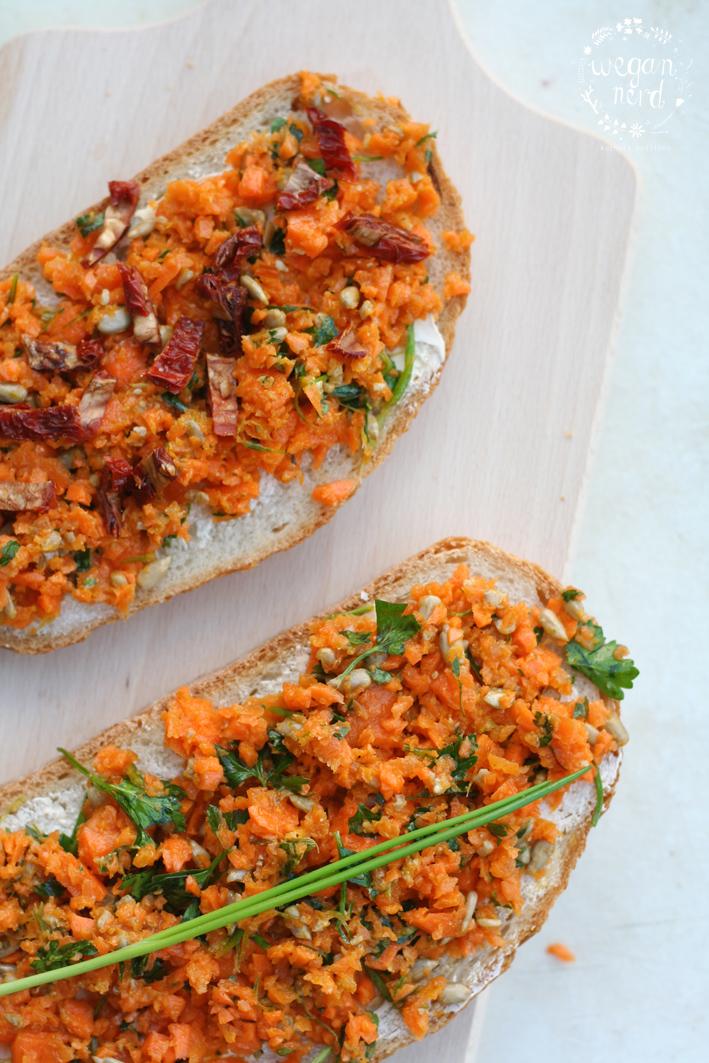 Roślinożerna Rokicka robi pesto z marchewki