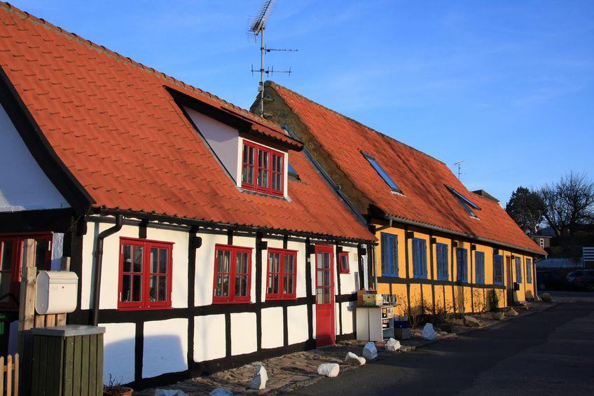 123RF.com / Tradycyjne domy na Bornholm