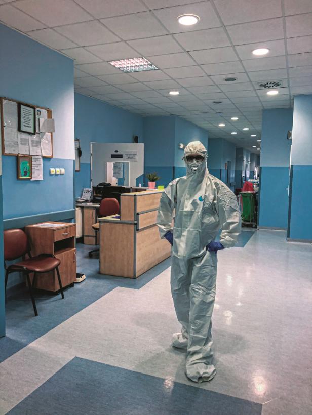 Lekarka Marta Kucharska i jej szpitalne lekcje z oddziału zakaźnego