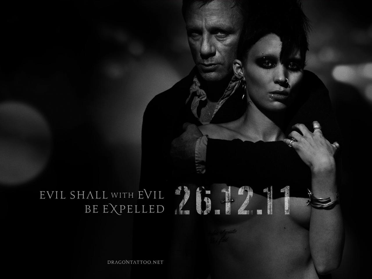 """Nowy plakat z filmu """"Dziewczyna z tatuażem"""" na podstawie Larssona"""