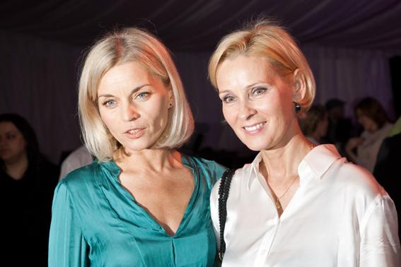 Gala Kryształowe Zwierciadła 2012, Małgorzata Foremniak i Maria Gładkowska