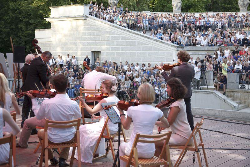 Koncert MPF i VOŁOSI w Łazienkach Królewskich