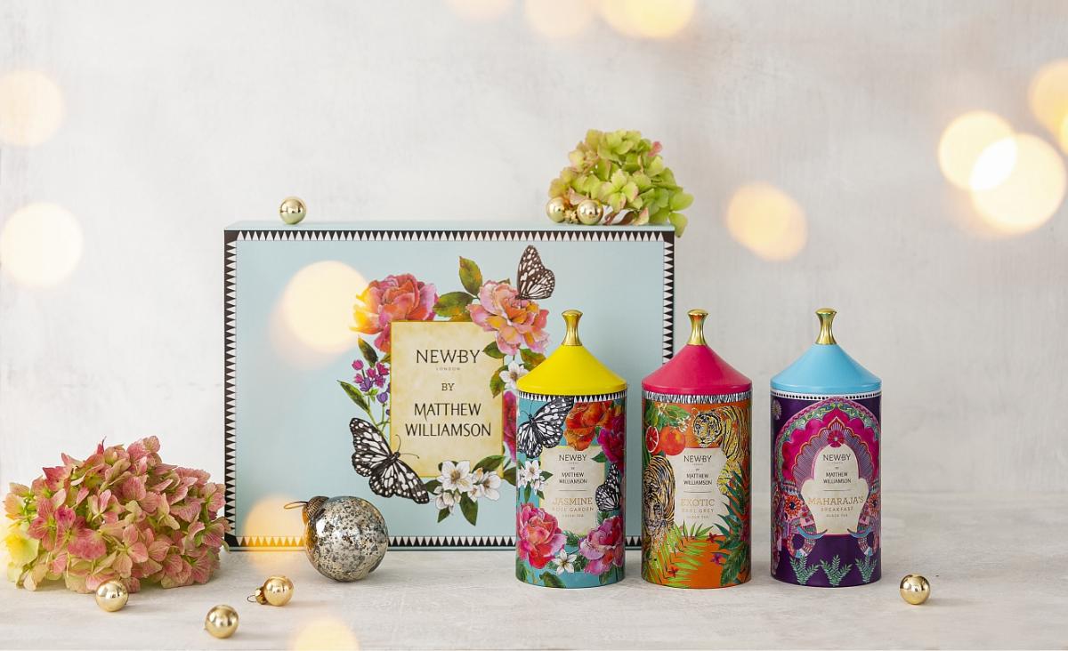 Herbaty Newby - doskonały prezent pod choinkę