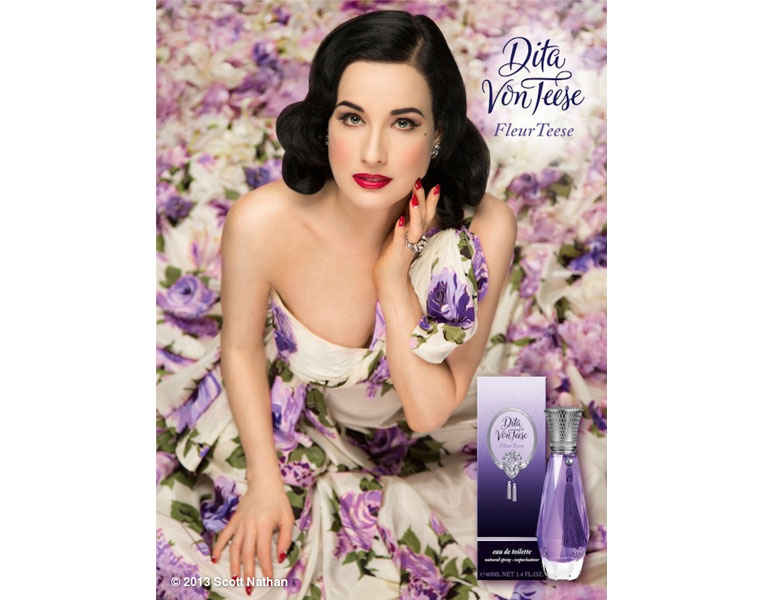 Romantyczne perfumy Dity Von Teese