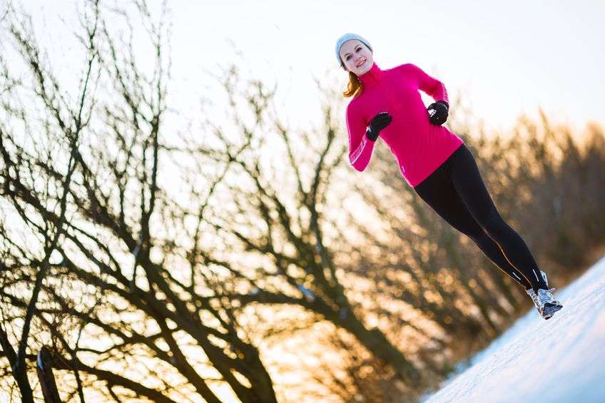 Bezpieczny jogging w zimie