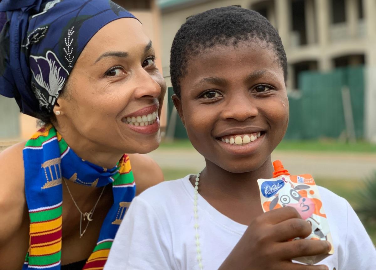Stworzenie miejsca, gdzie dzieci zdobędą szansę na lepsze jutro to najnowszy cel fundacji Omeny Mensah (Fot. materiały prasowe)
