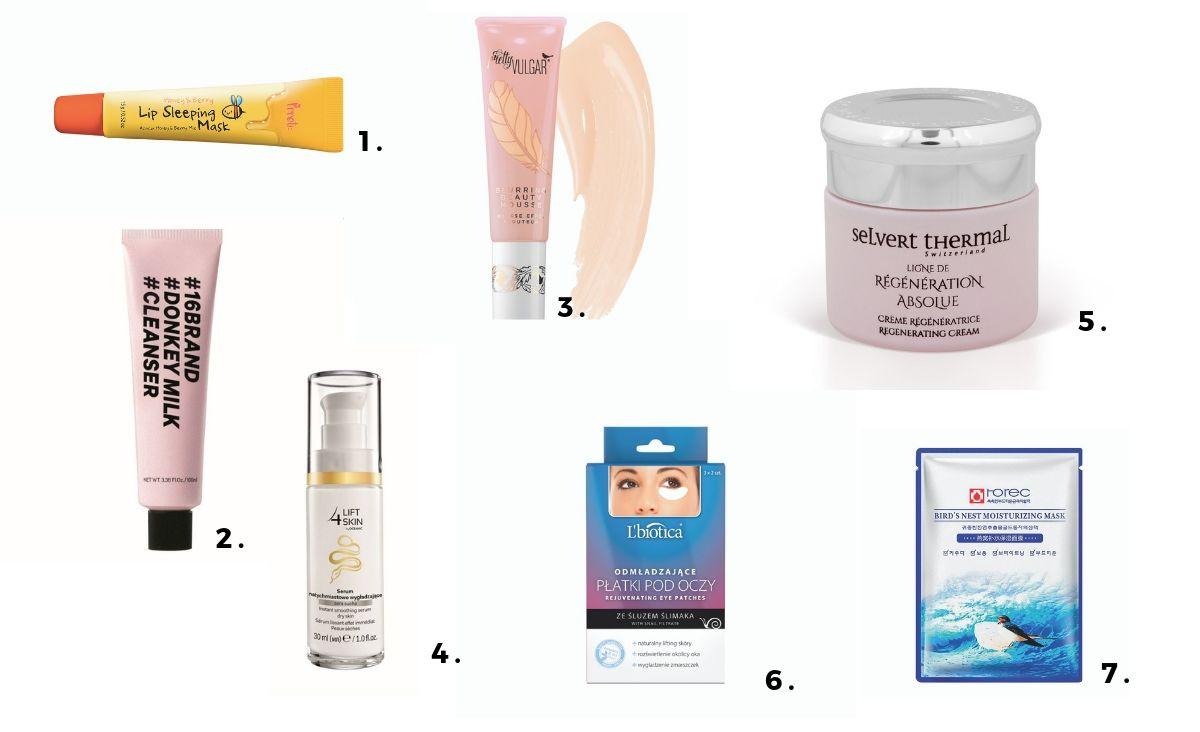 Wybór kosmetyków zawierających cenne ekstrakty zwierzęce (Fot. materiały prasowe)