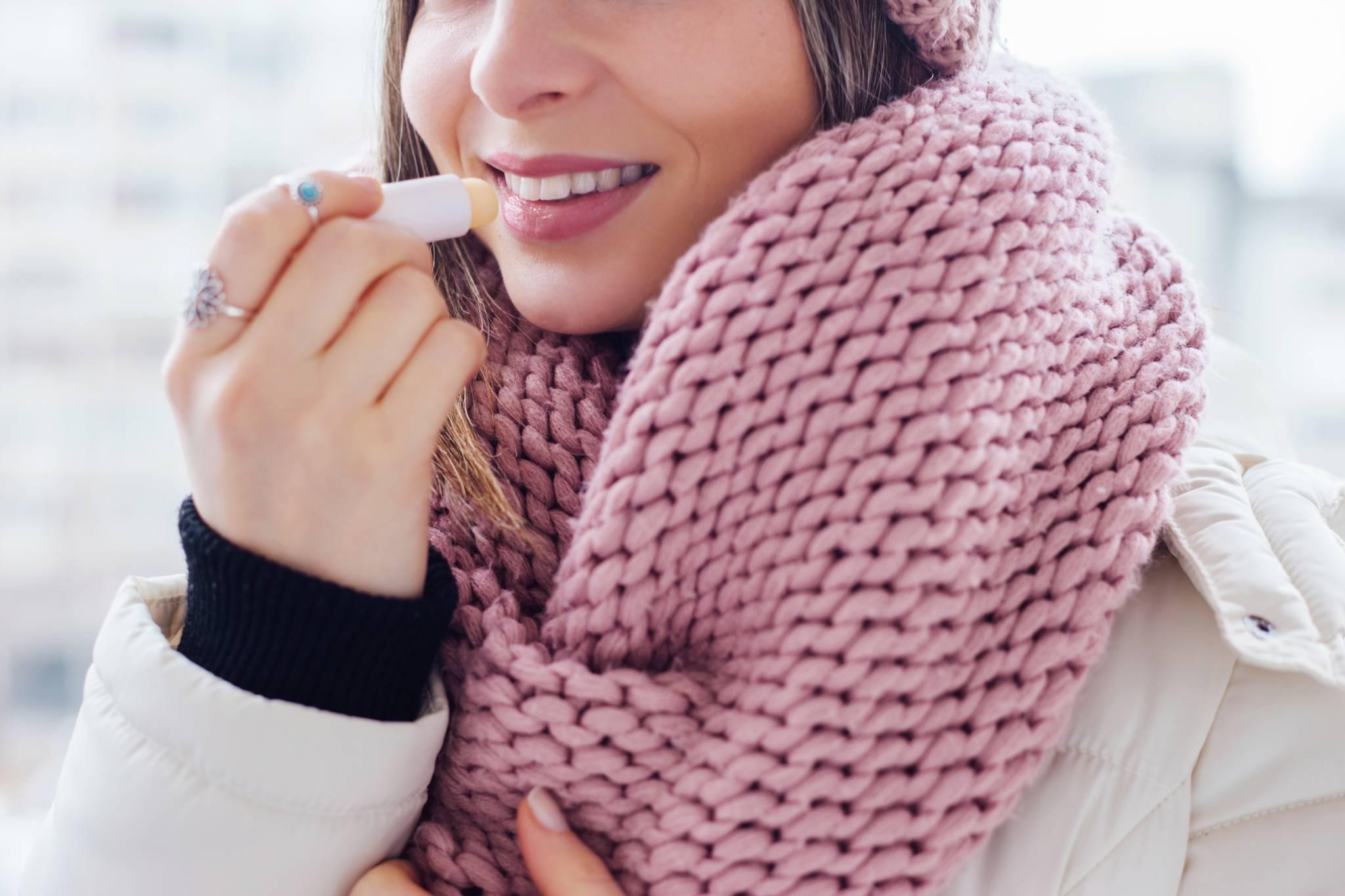 Pielęgnacja ust zimą - domowe sposoby