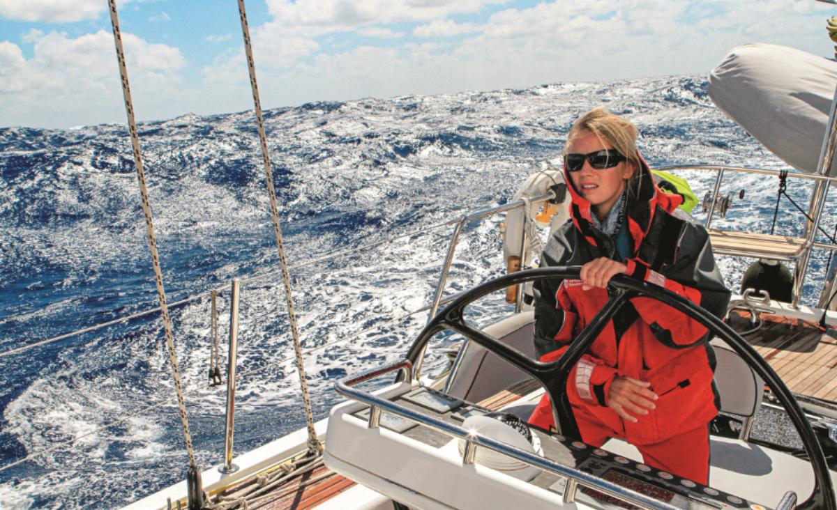 Pobyt na lądzie jest wyzwaniem. Rozmowa z kapitanem jachtowym Hanną Leniec-Koper