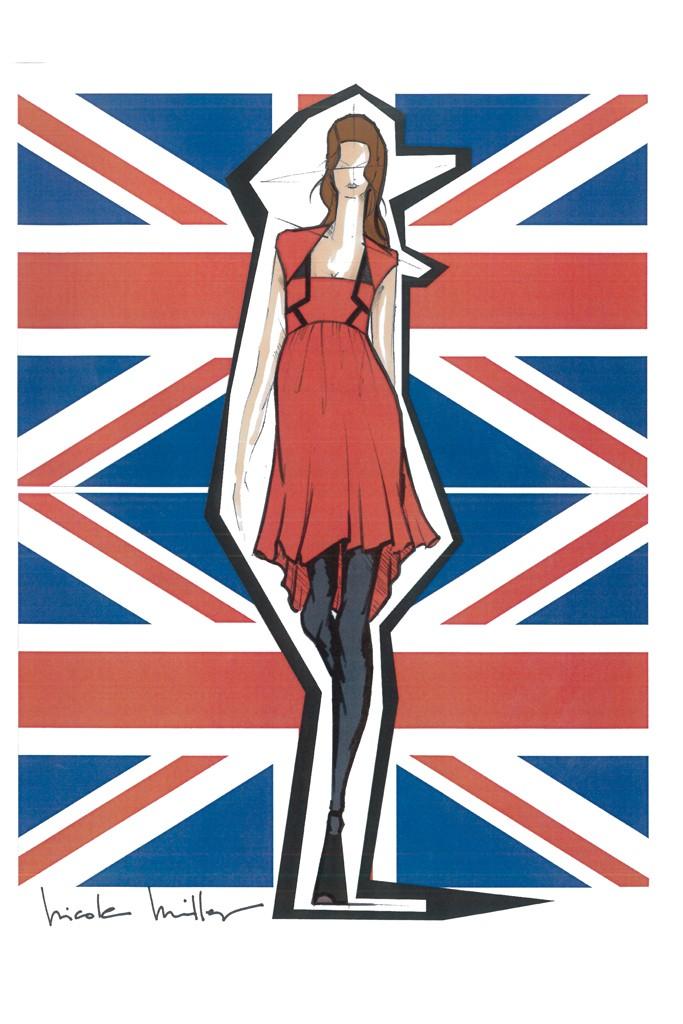 Projektanci dla Kate Middleton / Nicole Miller