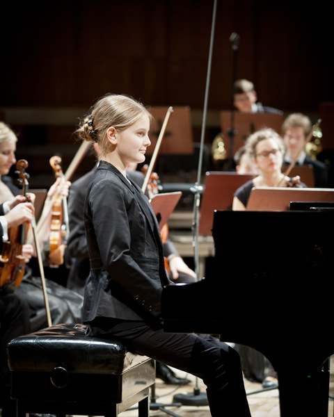 Koncert Młodej Polskiej Filharmonii w Warszawie