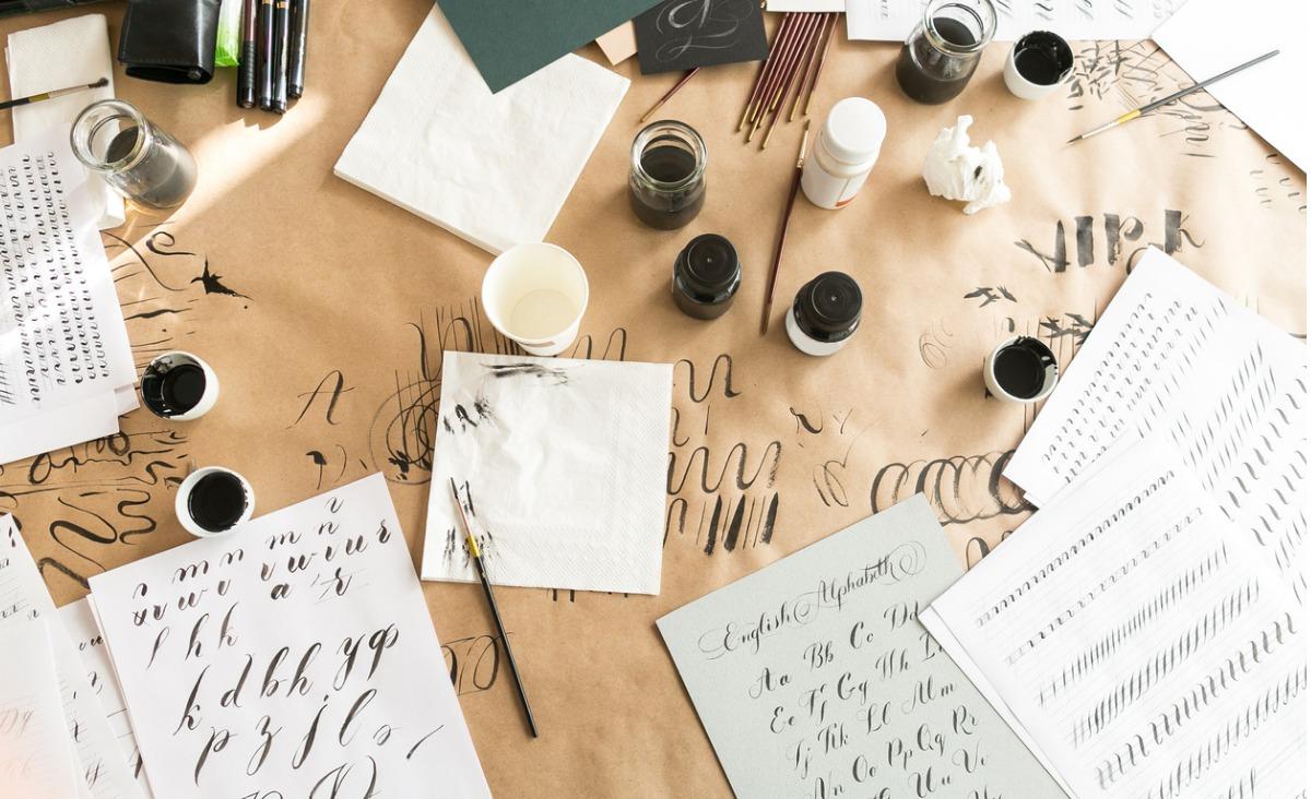 Kaligrafia - trening uważności, opanowania i pokory