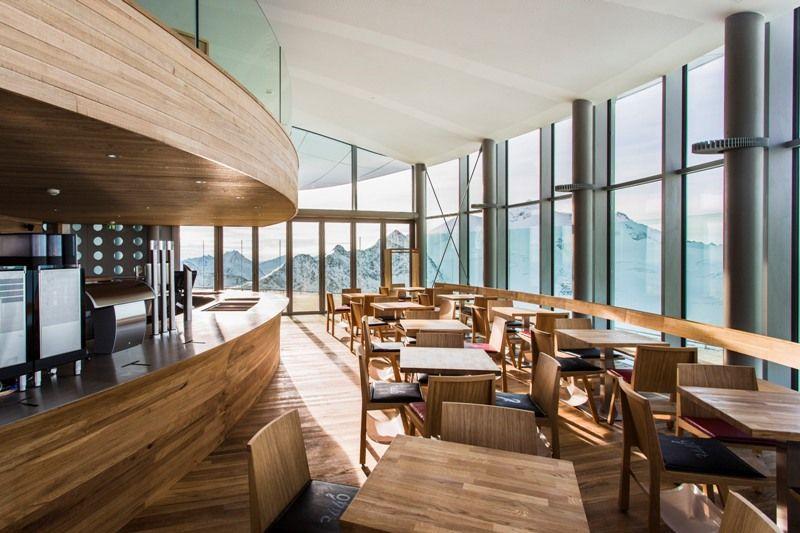 Pitztal – najwyżej położona kawiarnia w Austrii już działa!