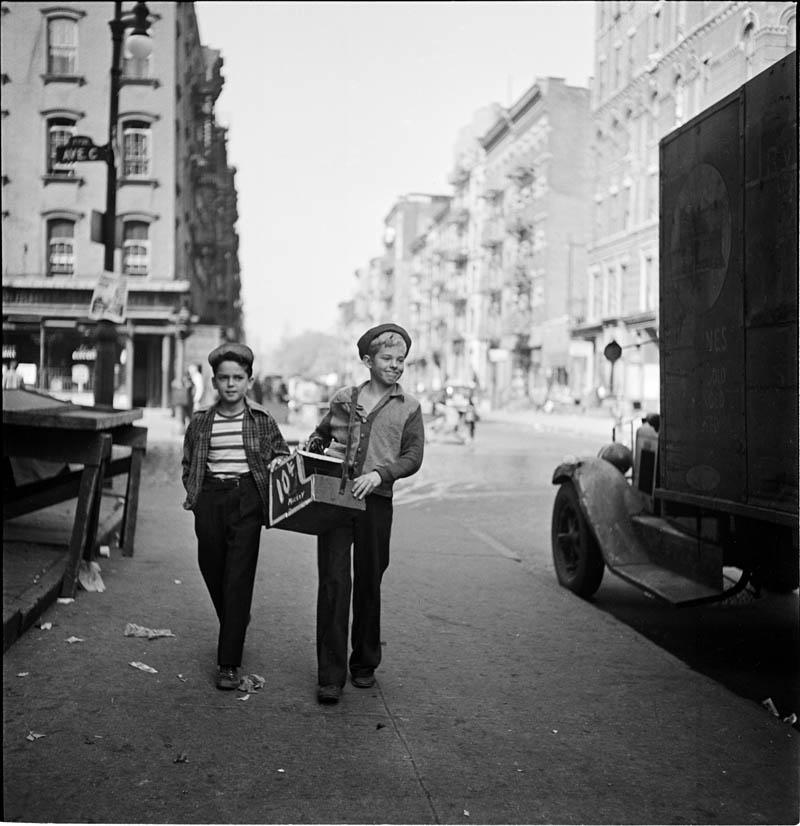 Nowy Jork w latach 40. na zdjęciach Stanleya Kubricka