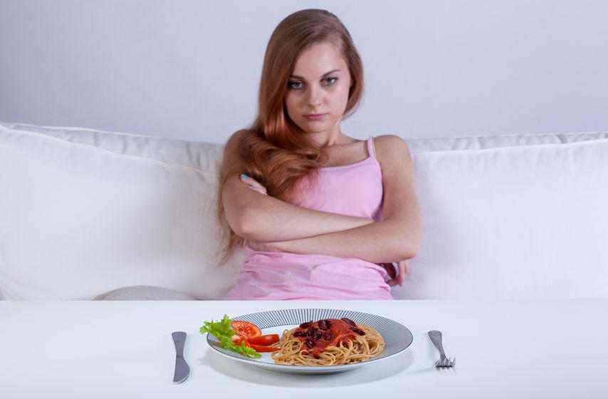 Pierwsze symptomy anoreksji