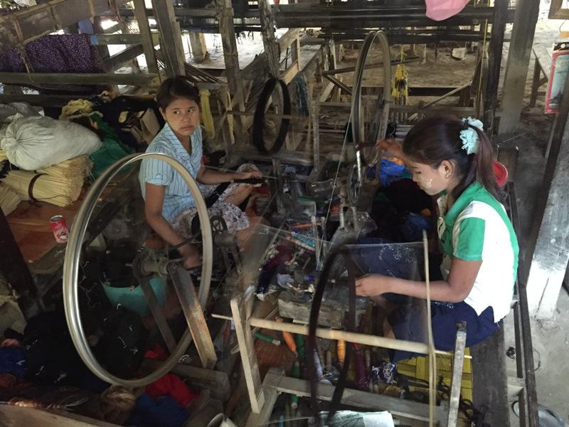 6. Zaklad w którym pracuje Aung Khin Oo
