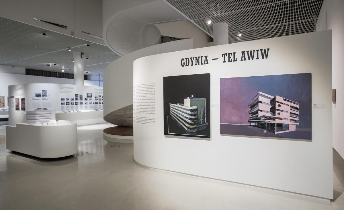 Miasta nadziei - wystawa Gdynia - Tel Awiw w POLIN