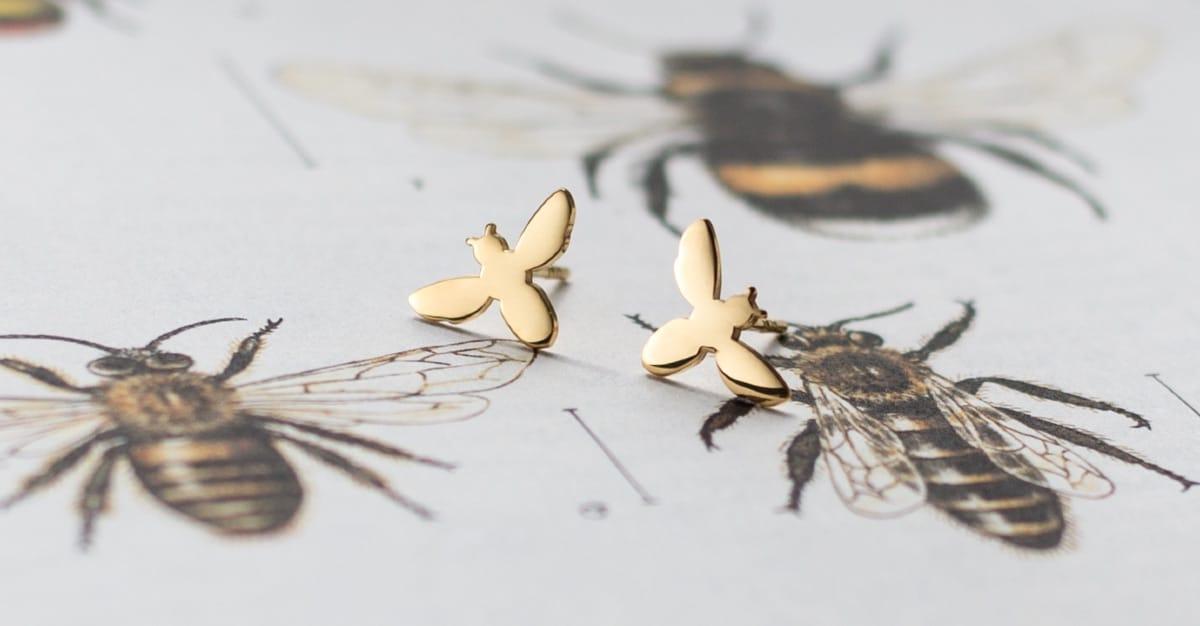Pszczoła oznacza pracowitość i porządek, a także troskliwość i mądrość. (Fot. materiały prasowe)