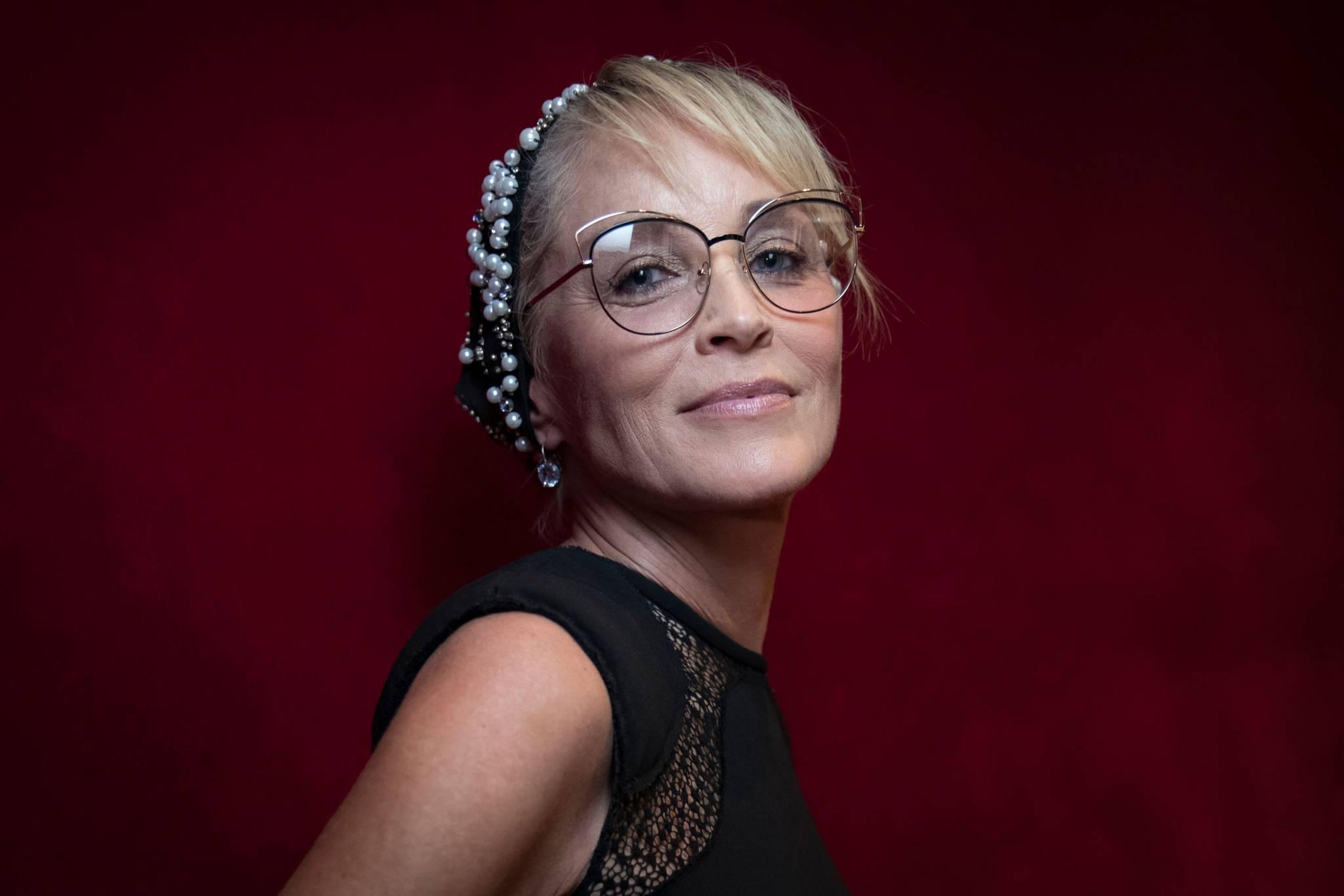Sharon Stone: waleczna