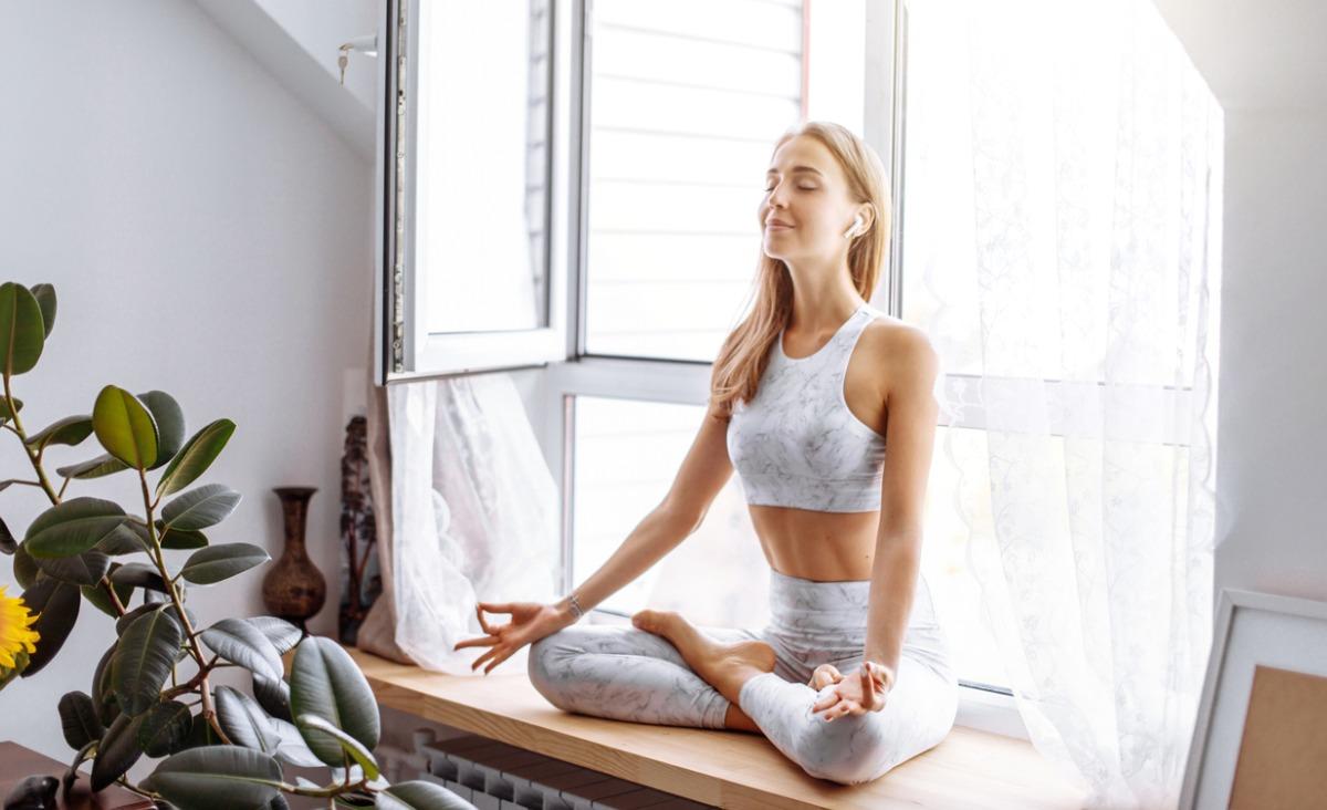 Oddech w pozycjach jogi