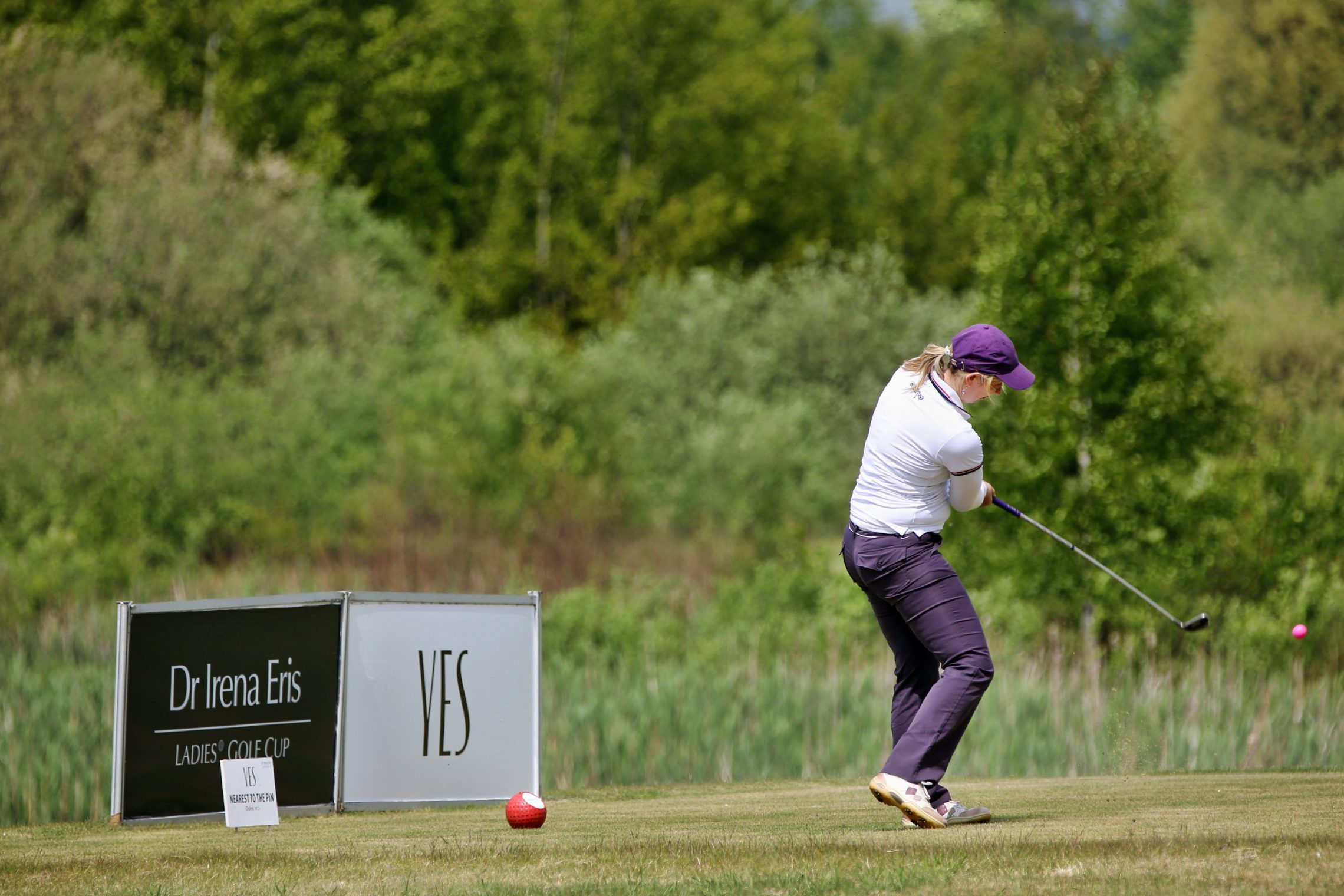 YES na Dr Irena Eris Ladies' Golf Cup
